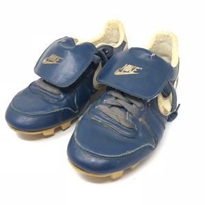 Vintage Nike 80s Lace Up Tongue Flap Cleats